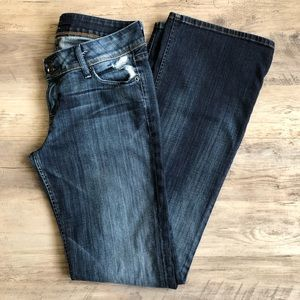 HUDSON distressed bootcut flare jean size 29